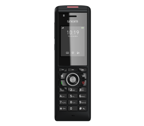 Snom M85 IP65 rated Rugged Cordless Office IP Phone front