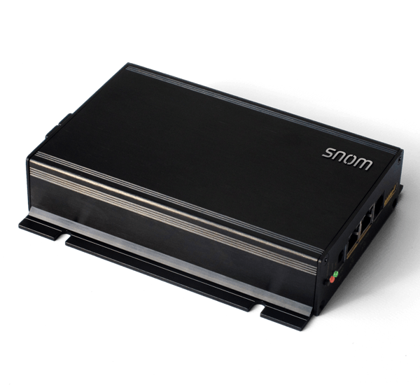 Snom - PA1 - Public Address System top side view