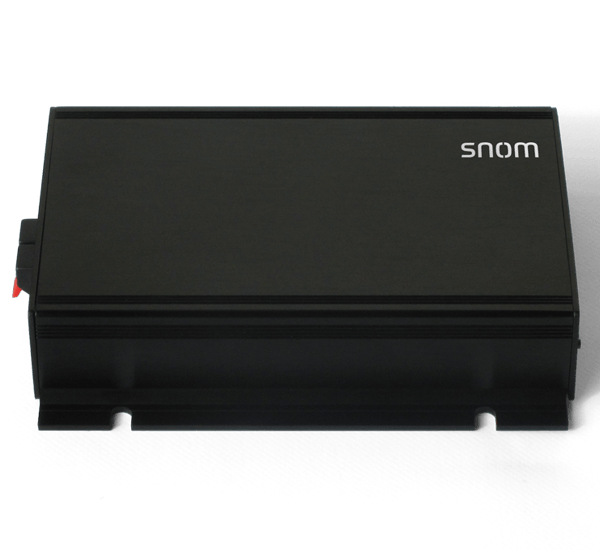 Snom - PA1 - Public Address System front top view