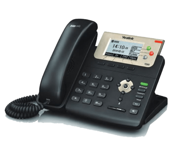 YeaLink T23G Basic Busienss IP Phone right view