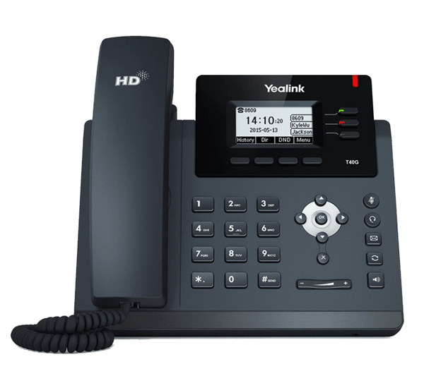 YeaLink T40G IP Phone for general business use - front view