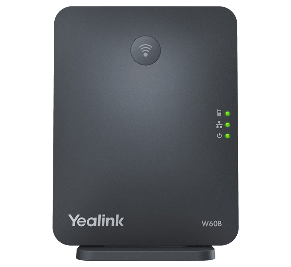 YeaLink W60B SIP DECT base station front view