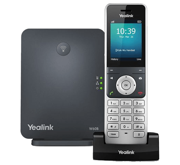 Yealink W53P Base + Cordless DECT IP Phone kit