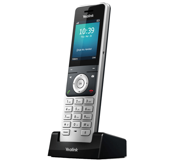 Yealink W56H Handset DECT Cordless front right view