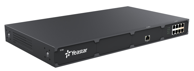 Yeastar S100 front left mixed 1 ex30 1 ex08 cards