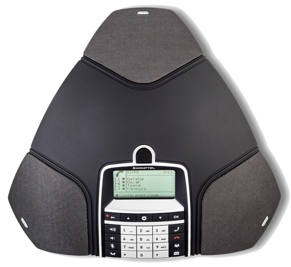 Konftel 300IP IP conference phone top view