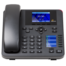 Digium A25 IP Desk phone for asterisk front desk view