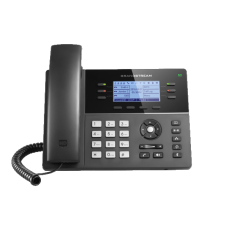 GrandStream GXP1760W wireless IP desk phone front view