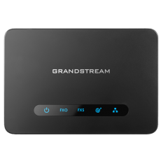 GrandStream HT812 phone ata adapter sip voip top view