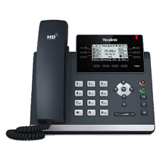 YeaLink T41S Mid-Range SIP IP Office Work Phone front view