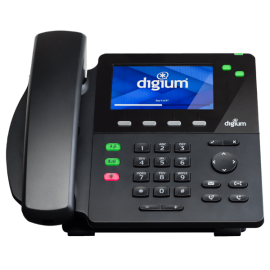 Digium D60 IP office phone front view
