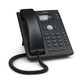 Snom D120 IP desk phone - entry level front left view