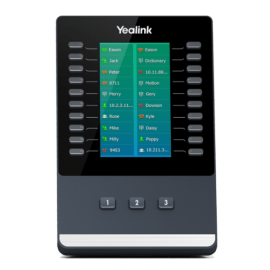 Yealink EXP50 console expansion front view
