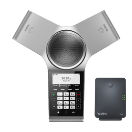 YeaLink CP930W Conference IP Phone wireless kit top view