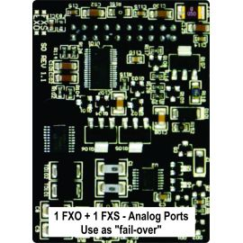Yeastar FXO / FXS - S0 module expansion card