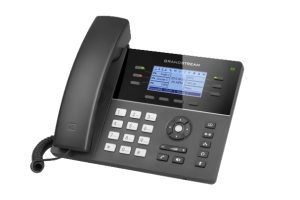 GXP1760W wireless IP desk phone right view