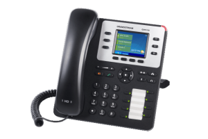 GrandStream GXP2130 ip desk phone right view
