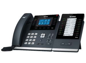 YeaLink SIP-T46S ip desk phone - expandable with EX40 expansion module
