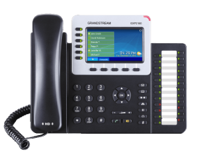 GrandStream GXP2160 ip work phone front view