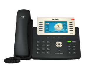 YeaLink T29G IP Phone front view