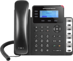 GrandStream GXP1630 ip desk phone front view
