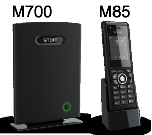 snom M85 and M700 base recommended