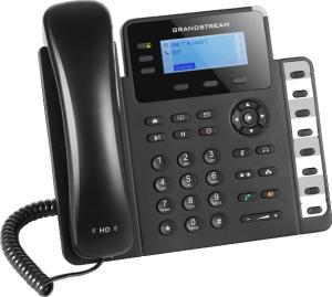 GXP1630 ip desk phone left front view
