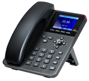 A20 Digium IP Phone general use - right front view