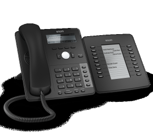 Snom D7 Extension module with IP phone