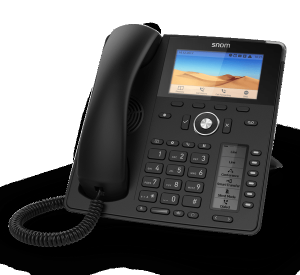 Snom D785 High-End Work IP Phone front right view