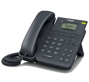 T19P E2 Basic IP Phone  front right view