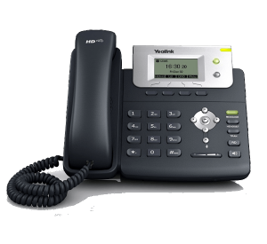 YeaLink T21P-E2 - Basic Business IP Phone front view