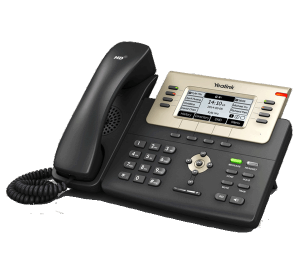 T27G ip office phone front right view