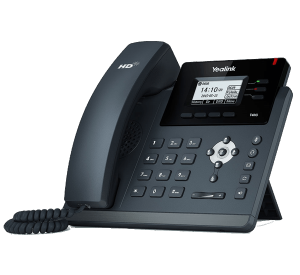 YeaLink T40G IP Phone for general business use - side view