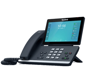 Yealink T58A IP High End IP Phone - right side view