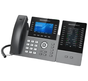 Grandstream GRP2615 IP Phone with expansion module