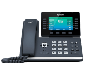 YeaLink SIP-T54W WiFi Bluetooth IP phone front view