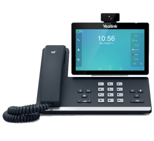 YeaLink T58V IP Video Phone front view