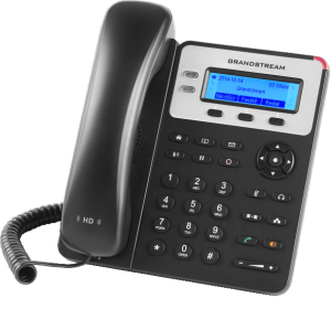 GXP1620 basic ip phone front right view