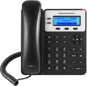 GrandStream GXP1625 basic ip phone front view
