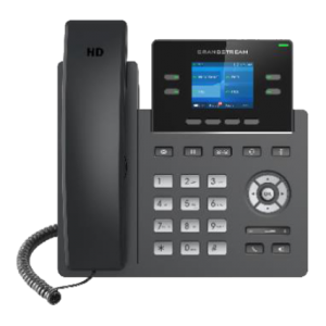Grandstream GRP2612W wifi wireless ip phone front view