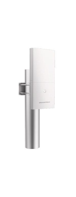 GWN7600LR wireless  outdoor access point mounted 1