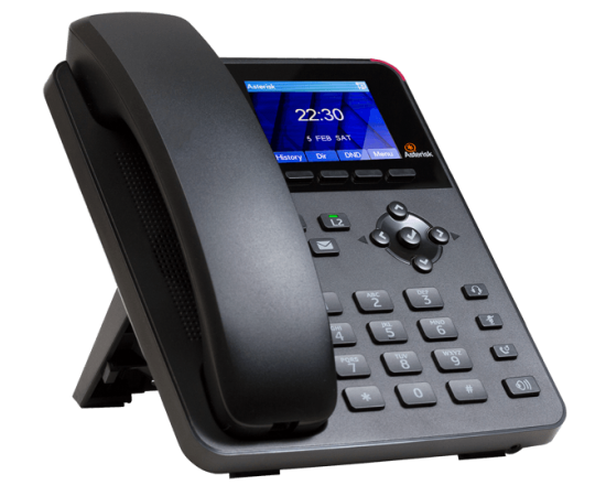A20 Digium IP Phone general use - left front view