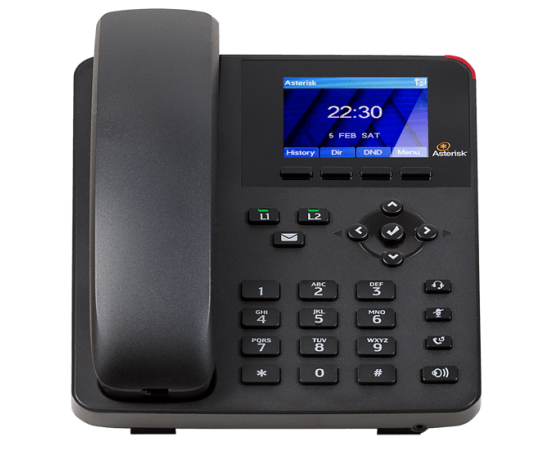 Digium A22 IP Phone for asterisk front view