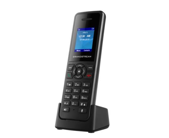Grandstream DP720 handset on charging cardle