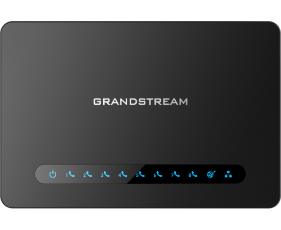 GrandStream HT818 front view analog telephone adapter ata