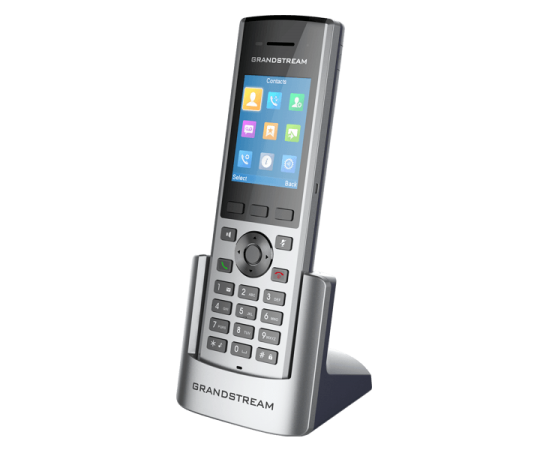Grandstream DP730 cordless IP phone with charging station