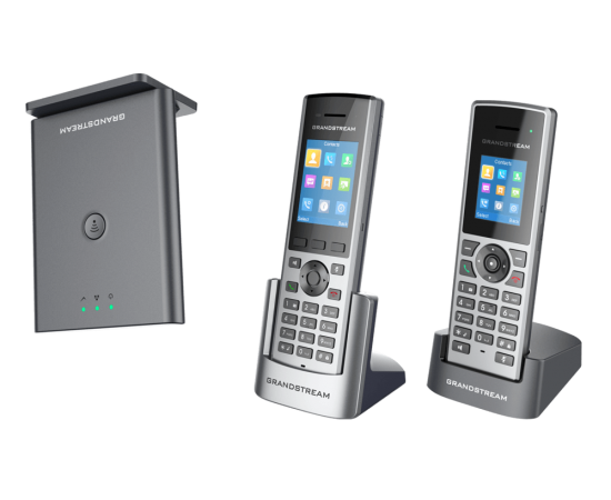 GrandStream DP752 base with DP722 and DP730 phones