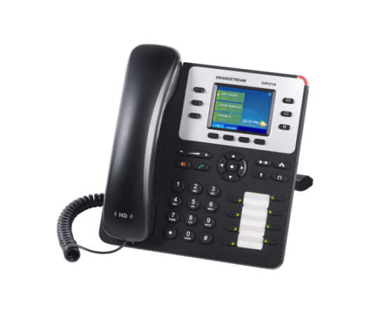 GrandStream GXP2130 ip desk phone right view