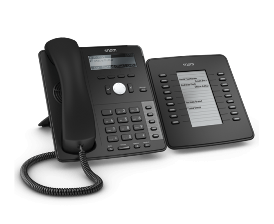 Snom D715 Professional ip phone with expansion modules D7